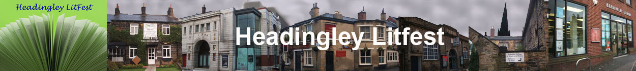 Headingley Litfest Banner : literature